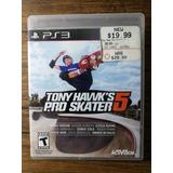 Tony Hawk Pro Skater 5 Playstation 3 Ps3 !!