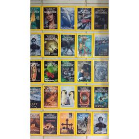Lote 25 Revista National Geographic 1995-1999 Frete Grátis