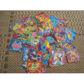 Coleção Tazos Jo Ken Pokemon - Elma Chips