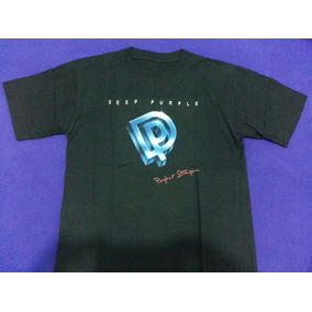 Deep Purple Perfect Strangers Remera Talle S