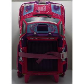 Mochila De Rodinha Modelo Carro Infantil Feminino Maxtoy