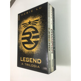 Box Livro Trilogia Legend - Champion - Prodigy Novo