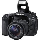 Camara Eos 80d Kit Con Lente Ef-s 18-55mm Is Usm 24.2mpx