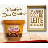 Doce De Leite Puro, Dom Coimbra, (caixa C/ 12 Potes 400g)