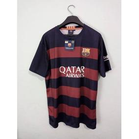 7cc18ea17c720 Camiseta Fc Barcelona Azul Y Negro 2016 - Camisetas en Mercado Libre ...