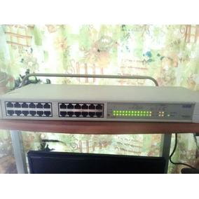Swicht 3com Super Stack Ii Ps Hub 40, 24 Puertos