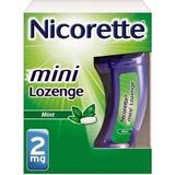 Nicorette Stop Smoking Aid 2 Mg Mini Lozenges, Mint 20 Ea