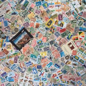 Lote 1500 Selos Comemorativos Do Brasil Novos