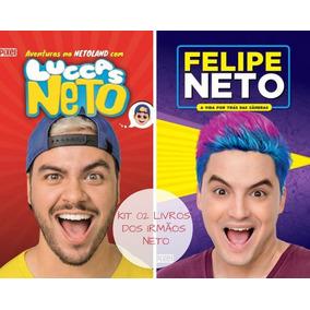 Kit Livros Felipe Neto E Luccas Neto