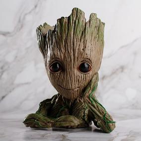 Baby Groot Guardiões Da Galaxy 2 - Vaso Ou Porta Objetos Fg