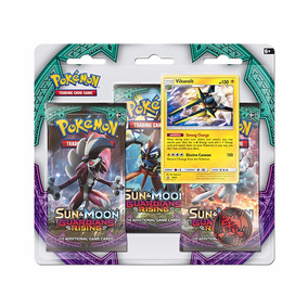 Coleccion Trading Cards S&m 3 Pack Booster Blister Pokemon