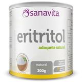 Eritritol Sanavita Adoçante Natural Sem Glúten 300g