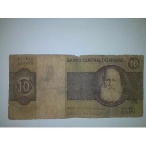 Cédula Nota Dez Cruzeiros Original - Colecione!