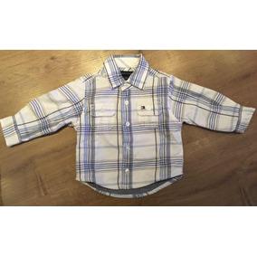 Camisa Xadrez Infantil Tommy Hilfiger Tam 3-6m 87be99e9667b2