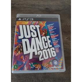 ( Frete R$ 9.90 ) Just Dance 2016 16 Ps3 Midia Física Jogo