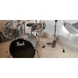 Bateria Pearl Roadshow 4pz Jazz Kit Con Platillos Zildjian