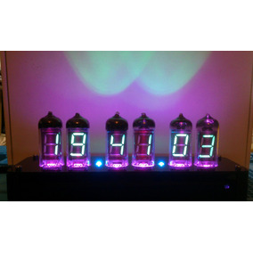 Regalo Perfecto ! Reloj Nixie Clock Digital Vintage Retro