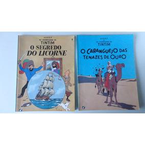 As Aventuras De Tintim Vários Títulos Ed. Record