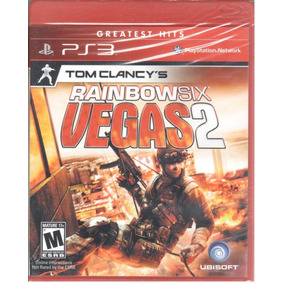 Rainbow Six Vegas 2 Ps3 Jogo Original Lacrado Mídia Física