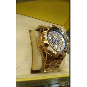 a6bd178b065 Relógio Invicta Venom Hibrid Danhado A Ouro 18k 100% Origina