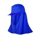 Boné Touca Árabe De Proteção Em Helanca Azul 9632638d439
