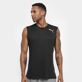 Camiseta Regata Puma Essential Sleeveless - Masculina -preto 62b8a54d68314
