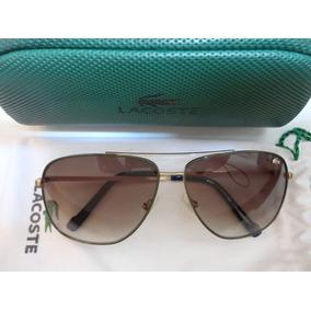 Óculos De Sol Aviador Lacoste - Óculos no Mercado Livre Brasil e062d90e05