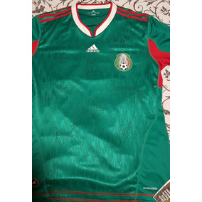Playera De Coleccion Autografiada Por Seleccion Mexicana en Mercado ... 2f8a7587f65b1