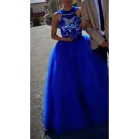52303bb86 Vestido Xv Años Color Azul Petroleo 15 Anos - Ropa