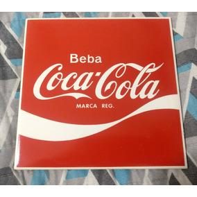 Azulejo Coca-cola - Original Da Fábrica De Santa Catarina -