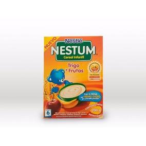 Cereal Infantil Trigo Y Frutas 200g Nestum- Bebés Y Niños