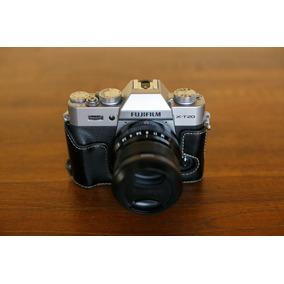 Camera Fuji Xt20 Silver + Lente 23 F2 + Half Case