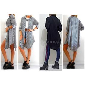 fab54b4ef27ec Camisa Rayada Blanca Negra Mujer - Ropa y Accesorios en Mercado ...