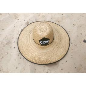 Chapéu De Palha Crocheteria Cavalo Marinho
