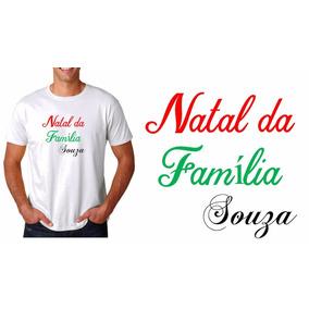 8beedce9b9 Camiseta Natal Familia - Camisetas Manga Curta em São Paulo no ...