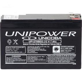 Bateria 12v 7a Selada - Para Nobreak Alarme Cerca Eletrica