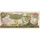 Billete De Costa Rica De 50 Colones Del 93