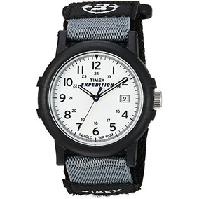 88f0731e479a Timex Hombres T49713 Expedition Camper Analog Cuarzo Negro