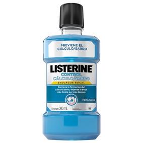 Listerine Control Calculo Dental X 500 Ml