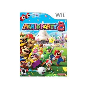 Mario Party 8 Wii Mídia Física Novo Lacrado