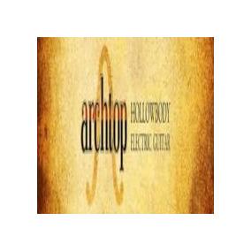 Archtop Hollowbody Electric Guitar P/ Kontakt