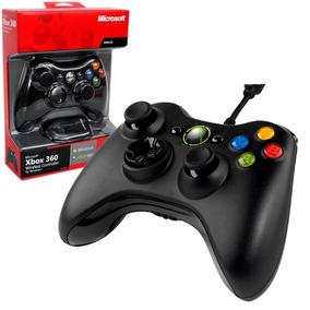 Control Xbox 360 Pc Microsoft Alambrico Nuevo Tienda Bagc