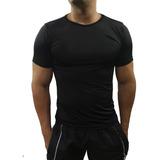 Camisa Segunda Pele Térmica Básica Uv Fator 50 Poliéster