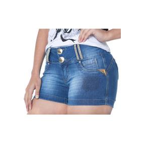 Shorts Jeans Estilo Pit Bull Pitbull Marca Zigma Com Bojo