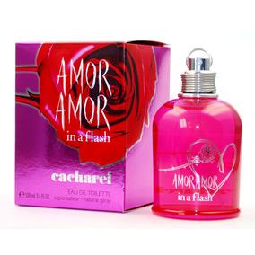 dd040041c Perfume Cacharel Amor Amor In A Flash 100ml Para Mujer