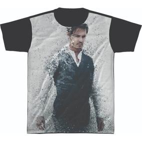 Camisetas Johnny Depp - Camisetas Manga Curta no Mercado Livre Brasil 28066c2fd6b