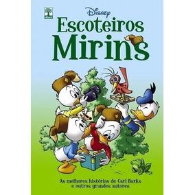 Kit Livro Hq Disney Escoteiros Mirins + Bussola Multi Função