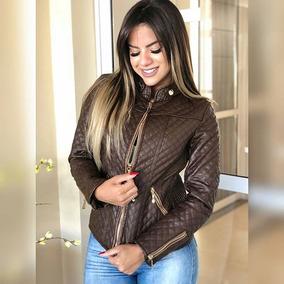 9b9b993ee Jaqueta De Inverno Feminina Inverno Frio Nylon Cores 2019. 5 cores. R$ 184  45