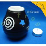 Difusor De Cerámica Con Vela Tea Light , Modelos Variados