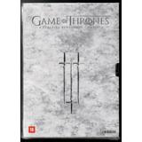 Dvd Box Game Of Thrones - Terceira Temporada (seminovo)